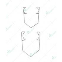 Barraquer Wire Speculums, Standard Wire, 10 mm blades