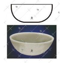 Basins, Round Bottom without spout
