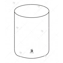 Battery Jars Round (Simple Round Jars)