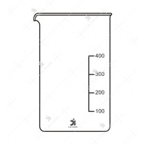 Beaker Low Form, with Spout, Graduated