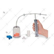 Bell Jar And Vacuum Pump Set