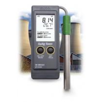 Boiler and Cooling Tower pH Portable Meter - HI99141