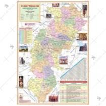 Chhattisgarh State Map