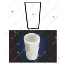 Crucibles Conical Form without Spout