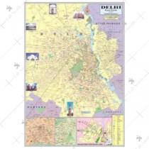 Delhi Political map
