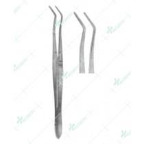 Dental Tweezers, Meriam Serrated, 16 cm