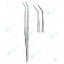 Dental Tweezers, Meriam Smooth, 16 cm