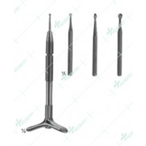 Finger Nail Instruments, with 3 points