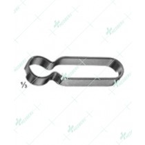 Fixation Clamp, to secure clamping jaws of stainless steel
