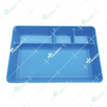 Instrument Tray With Cover, Polypropylene