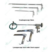 Lyrangoscopy Tubes with Support
