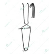 Millin Bladder Neck Spreader, 285 mm