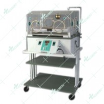 Incubator Mounted on Trolley with Single Walled Canopy
