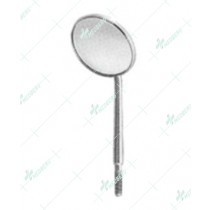 Mouth Mirrors, Magnifying with cone socket, 24 mm