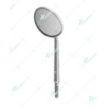 Mouth Mirrors, Plane with cone socket, 24 mm