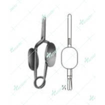 Muller Vessel Clips and Clamps, Straight tip
