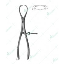 Patella Bone Holding Forceps, 185 mm