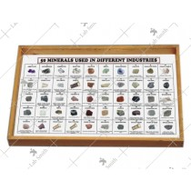 50 Minerals Used in Different Industry (Set of 50)