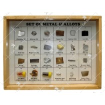Collection of 24 Metals & Alloys