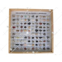 Collection of 100 Rocks & Minerals (25 +25)