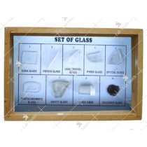 Collection of 9 Glass