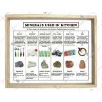 Minerals Used in the Kitchen (Set of 6)