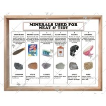 Minerals Used for Neat & Tidy (Set of 6)