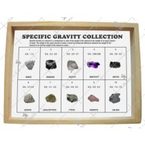 Minerals Specific Gravity Collection (Set of 10)