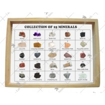Collection of 25 Minerals