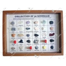Collection of 30 Minerals