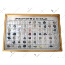 Collection of 70 Minerals