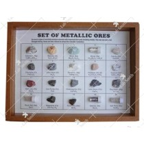 Collection of 20 Metallic Ores
