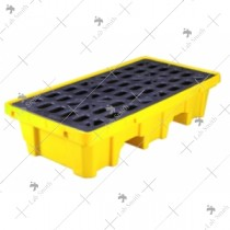 Poly Spill Pallet (2 Drum)
