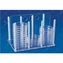Economy Rack For Petri Dishes
