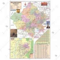 Rajasthan Political map