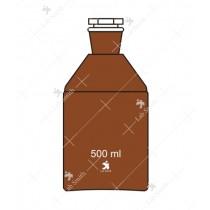 Regent Bottles N.M.F.S. (Amber)