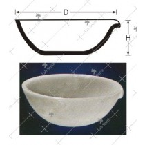Round Bottom Basins with Spout