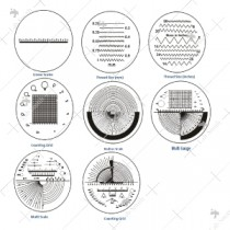 Scale Patterns of Contact Reticules