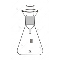 Schoinger Micro Combustion Flask, (Oxygen Flask), 1000 ml.