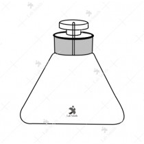 Specific Gravity Bottles, Hubbard, Conical, 25 ml. Cap.