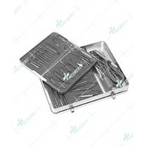 Sterilization Case, Aluminum, Double