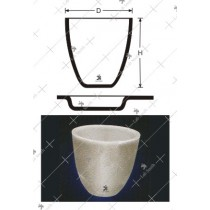 Tall Form Crucibles & Lids