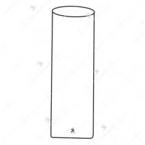 Kahn's Antigen Dilution Tubes, 55x18 mm, Flat bottom