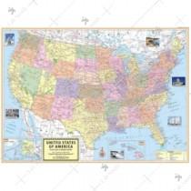 U.S.A Political Map