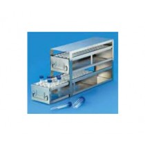 upright freezer drawer rack for centrifuge tubes