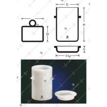 Volatile Matter Determination Coking Crucible & Lid B.S. 1016 (Part 1)