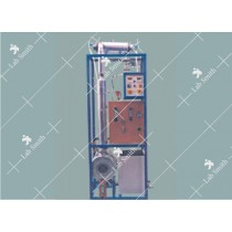 CONTINUOUS PACKED BED DISTILLATION COLUMN