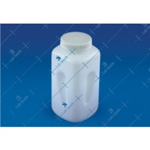 Economy Wide Mouth Square Bottle