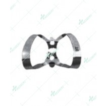 Winged Edged Labial Clamp