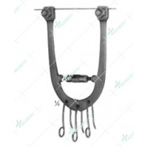 Wire Traction Bows, Adjustable, 115 mm